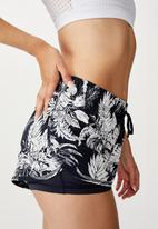 Cotton On - Move jogger short - minimal tropical