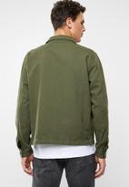 Superbalist - Overdyed worker jacket - khaki