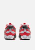 Nike - Air Ghost Racer - track red/black-white-metallic silver