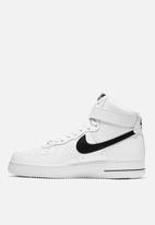 Nike - Air Force 1 High '07 - white & black