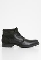 Jack & Jones - Harry chukka boot - black