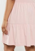 New Look - Smock mini dress - pink