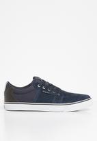 Jack & Jones - Banda nubuck - blue