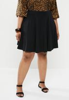 New Look - Curves circle skirt - black