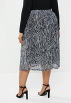 Carmakoma - August skirt - black & white
