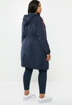 Carmakoma - Evelyn spring coat - navy & red