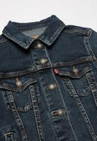 Levi's® - Lightweight trucker jacket - blue