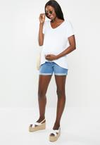 Cotton On - Maternity Karly short sleeve top - white