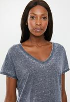 Cotton On - Maternity Karly short sleeve top - navy