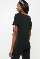 Cotton On - Maternity Karly short sleeve top - black
