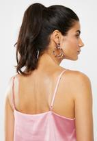 Glamorous - Thin strap cami - pink