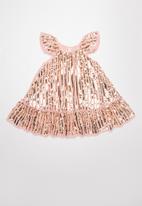 Cotton On - Veronica dress up dress -  pink & gold
