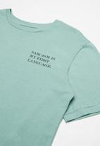Free by Cotton On - Oversized tee - green
