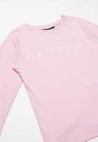 Cotton On - Lux long sleeve tee - pink