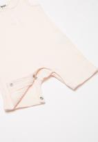 Cotton On - The sleeveless short leg romper -  pink