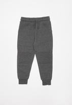 Cotton On - Heritage track pants - charcoal