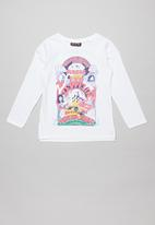 Cotton On - Lux long sleeve tee - white