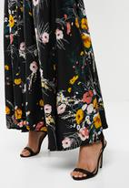 Me&B - Full volume skirt with side pockets - floral