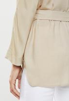 edit - Long sleeve tunic - beige