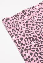 Cotton On - Hailey short - pink & black