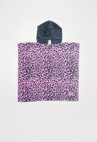 Cotton On - Kids hooded towel -  pink & navy