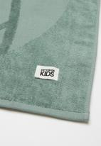 Cotton On - Kids hooded towel - green