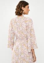 edit - Draw waist kimono - multi