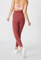 Cotton On - Washed back 7/8 tights - rose wash