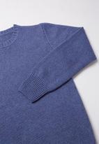 Rebel Republic - Wool blend jersey - blue