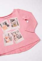MINOTI - Long sleeve top - pink