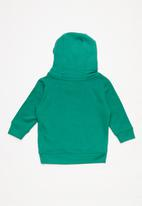 MINOTI - Boys hooded top - green