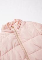 MINOTI - Girls puffa jacket - pink