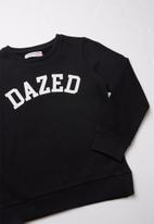 MINOTI - Dazed print sweatshirt - black