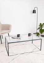 Sixth Floor - Cilla coffee table - black