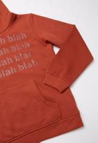MINOTI - Teens hooded top - rust