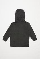 MINOTI - Brooklyn print basic hoodie - charcoal