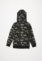 MINOTI - Kids hoodie - grey & black