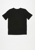 adidas Performance - Short sleeve tee - black/white