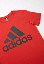 adidas Performance - Short sleeve tee - red