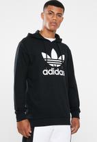 adidas Originals - Trefoil hoodie - black