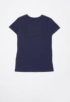 GUESS - Short sleeve varsha quatro tee - navy