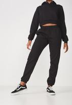Factorie - Classic trackpants - black