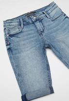 GUESS - Girls denim short - blue
