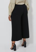 Superbalist - Wide leg culottes (plus) - black