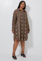 Superbalist - Shirt dress - print