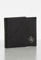 GUESS - Gandy global wallet wallet - black