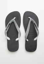 Havaianas - Top mix flip flop - grey & black