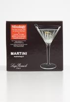 Luigi Bormioli - Luigi bormioli mixology martini 215ml 4pk