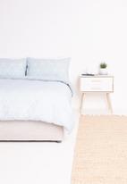 Sixth Floor - Ella printed duvet set - blue