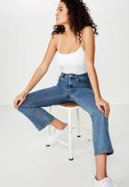 Cotton On - Carissa straight back bodysuit - white